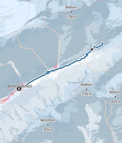 Map / Anenhütte