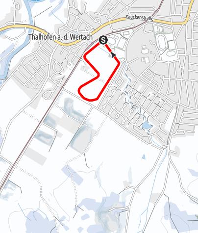Karte / Osterried Runde (T 1)