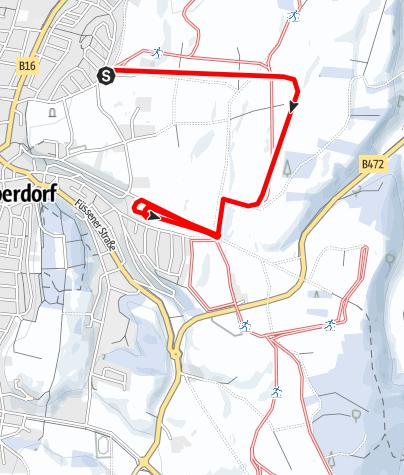 Karte / Hardt-Loipe (M 1)