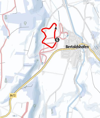 Karte / Bertholdshofener Loipe (B 1)