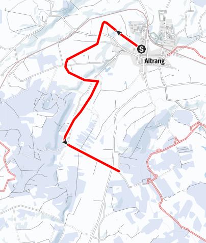 Karte / Loipe Ai 1