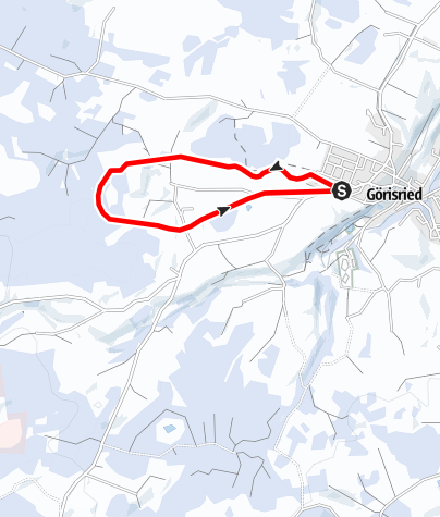 Karte / Loipe Gö 3