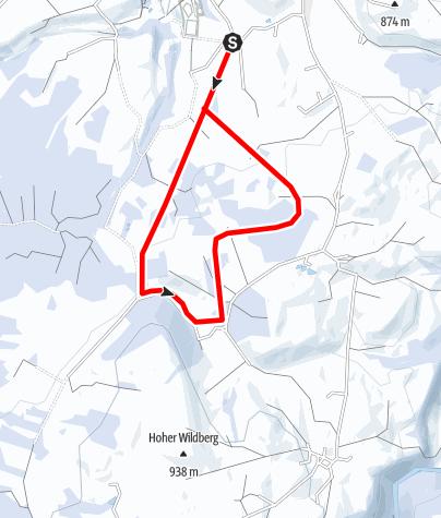 Karte / Loipe Gö 1