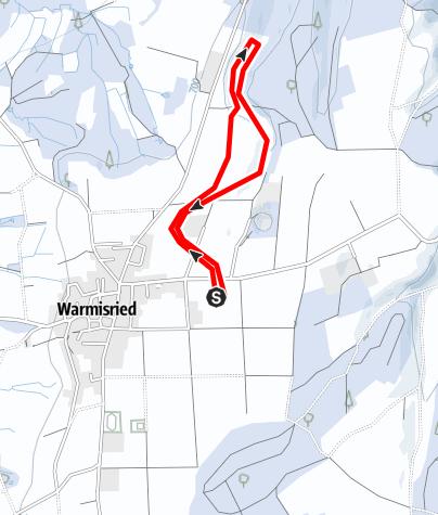 Karte / Wallenriedrunde