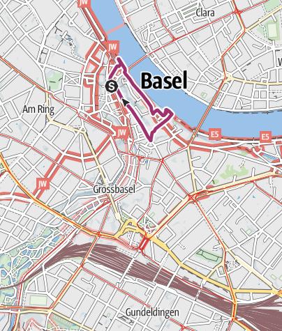 Karte / Erasmus Rundgang - Das historische Herzstück