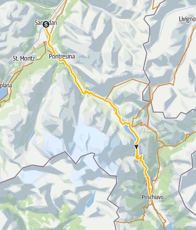 Map / 673 Bernina-Express