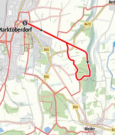Karte / Tempelrunde M2