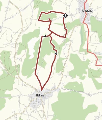 Karte / Moorlehrpfad Freimoos,  Amerang & Halfing