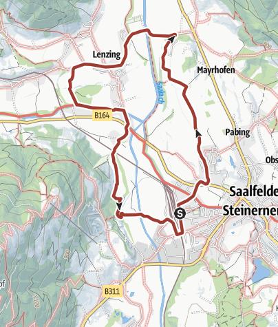 Karte / Geschichte Erlebnisweg