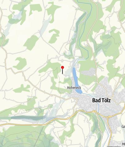 Karte / Haunleiten (706m) - Selbstversorgerhaus der Sektion Oberland