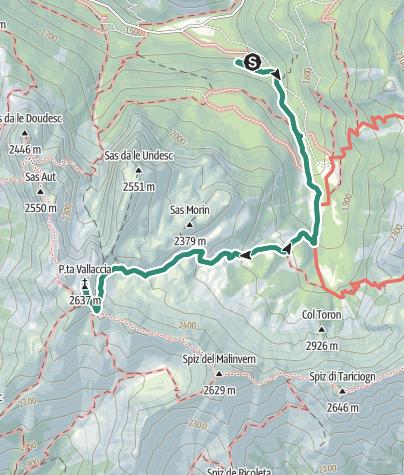 Map / Punta Valacia