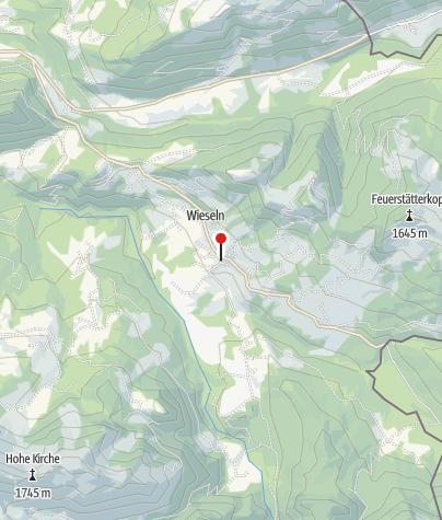 Karte / Sibratsgfäll, Katholische Pfarrkirche Heiliger Erzengel Michael