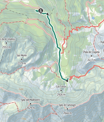 Cartina / Rifugio Taramelli
