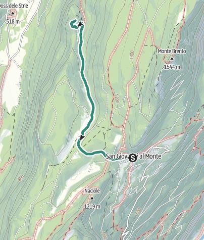 Map / San Giovanni al Monte – area archeologica San Martino