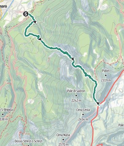 Map / Dimaro, Valle dei Cavalli
