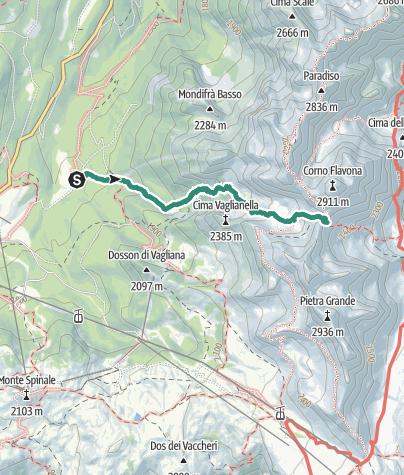 Map / Val Gelada