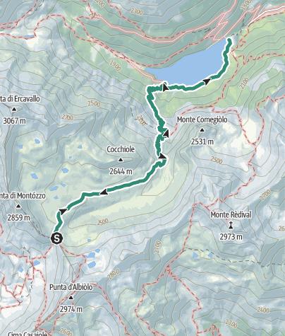 Karte / Val Montozzo
