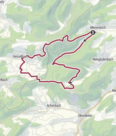 Karte / Extratour Boxbachpfad