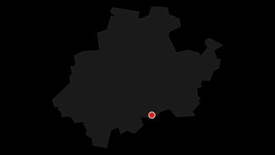 Karte / Golddorf-Route Latrop