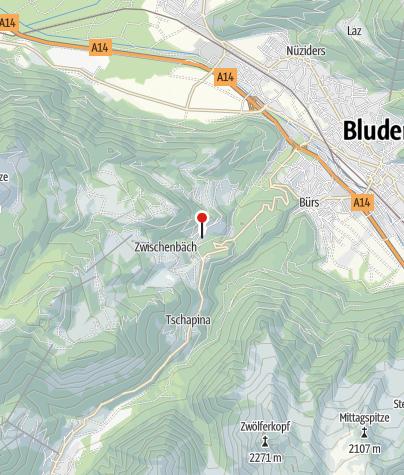 Karte / Bürserberg, Katholische Pfarrkirche Heiliger Josef