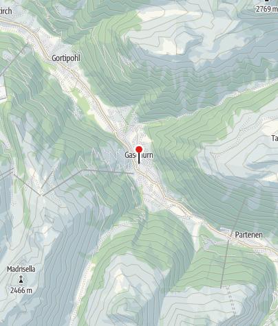 Karte / Gaschurn, Katholische Pfarrkirche Heiliger Michael