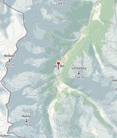 Karte / Gargellen, Kuratienkirche Heilige Maria Magdalena