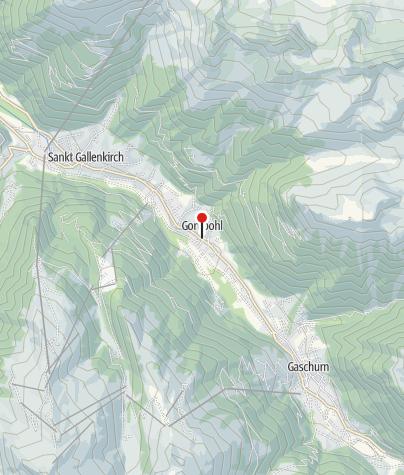 Karte / Gortipohl, Kuratienkirche Heiliger Nikolaus