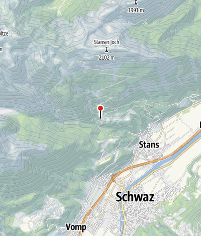 Karte / Aste-Reitbichl (970m) - DAV Sektion Oberland