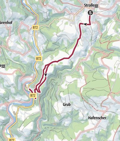 Map / Seeweg Strallegg