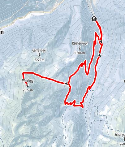Karte / Fotscher Windegg