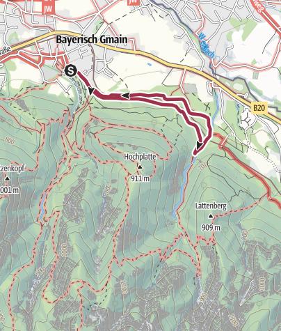 Karte / Wald-Idyll-Pfad (Maisweg)