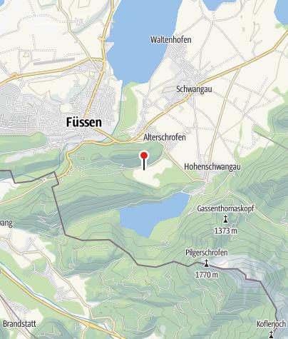 Karte / Schwansee Badeplatz