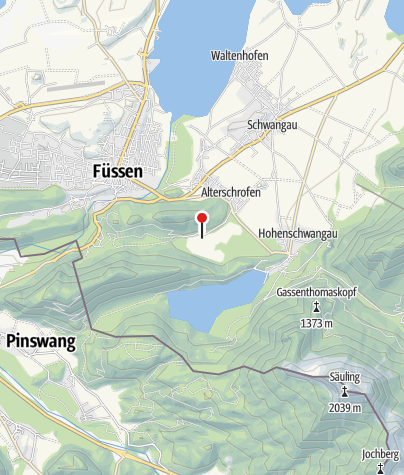 Map / Schwansee Badeplatz