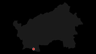 """Karte / Die Hochebene von Vezzena """"Festungswerk Pizzo di Levico"""""""