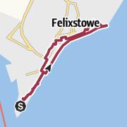 Map / Landguard Peninsula & Felixstowe