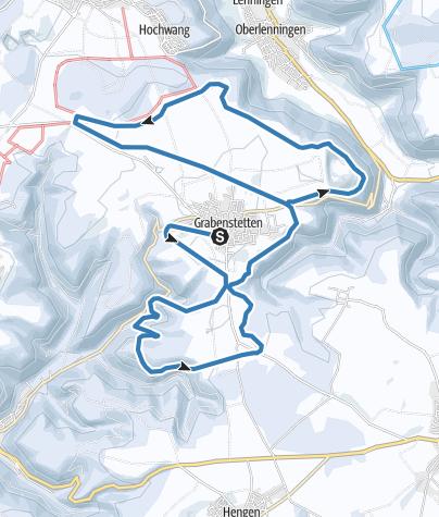 Karte / Skiloipe Grabenstetten