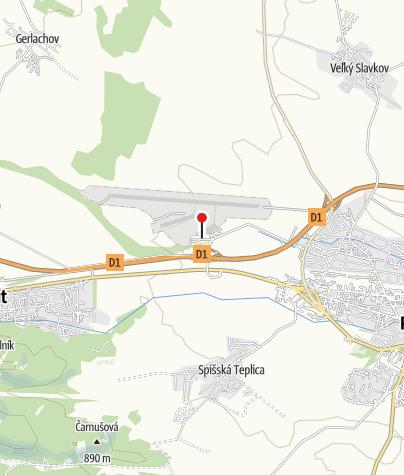 4b82a294e Letisko Poprad-Tatry, a.s. • Airport » outdooractive.com