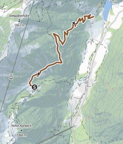 Map / Bachler Trail