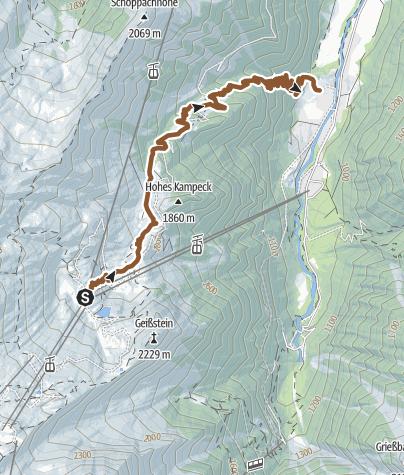 Map / Wüstlau Trail