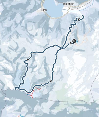 Map / Hoher Dachstein (2995 m) über die Rumplerrunde