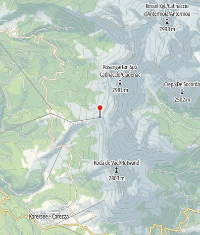 Karte / Kölner Hütte