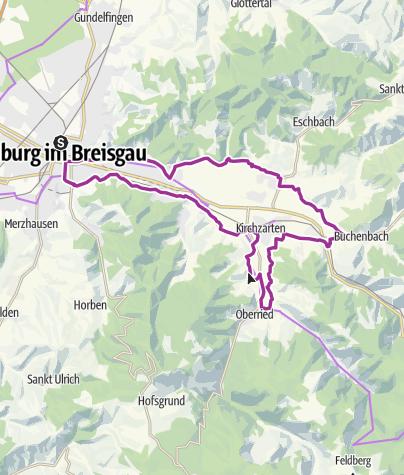 Karte / Dreisamtal Radwanderweg
