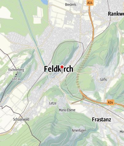 Karte / Feldkirch, Evangelische Pfarrkirche Heiliger Paulus
