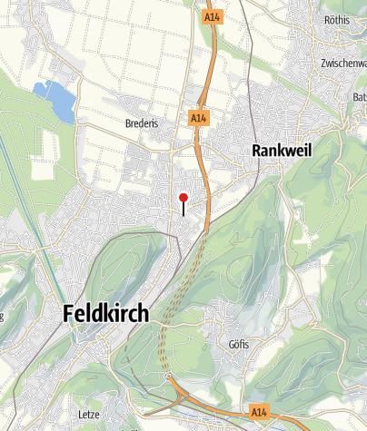 Karte / Feldkirch -Altenstadt Dominikanerinnenkloster und Kirche Mariä Verkündigung
