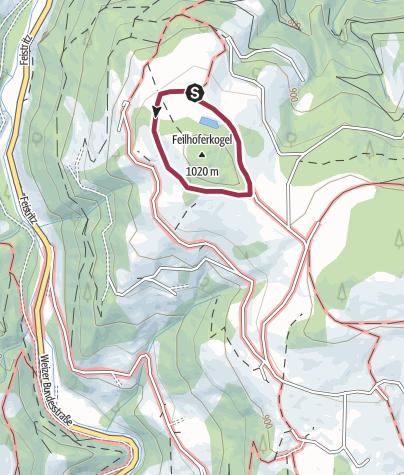 Karte / Irrwurzenweg