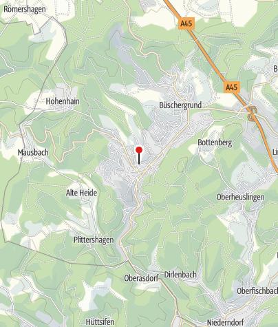 Karte / Touristinformation Freudenberg