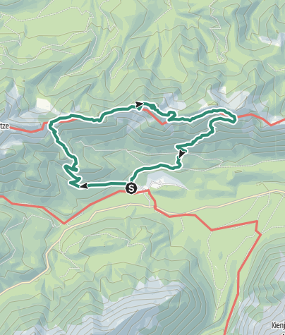 Karte / Der Hennenkopf - ein stiller, aber brillanter Aussichtsgipfel über Linderhof