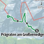 Karte / Rote Säule-Klettersteig