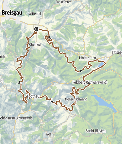 Karte / Black-Forest-Ultra-Bike-Runde