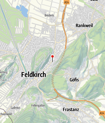 Karte / Feldkirch, Pfarrkirche Heilige Magdalena